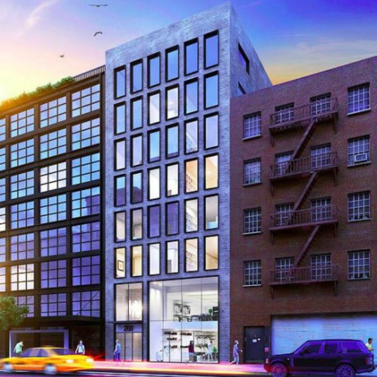 Eight-Story Building Revealed At 260 Bowery, Nolita