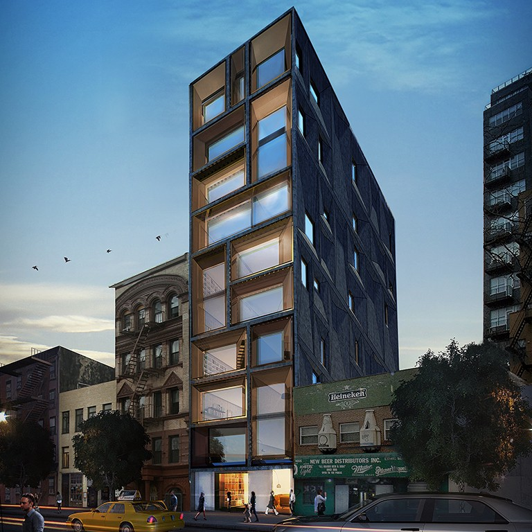 Construction Begins on Nexus' 165 Chrystie Street; See Early Renderings of Interiors
